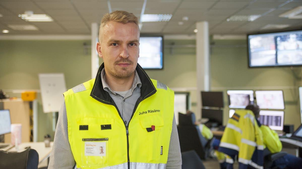 Toimitusjohtaja Juha Räsänen Riikinvoima