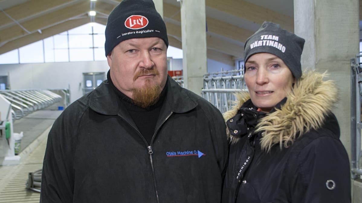 Jyrki Proskin ja Satu Hyvärinen