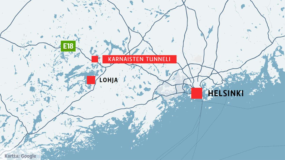 Yli 200 Kilometria Tunnissa Turunvaylan Tunneleissa Kaahanneilta