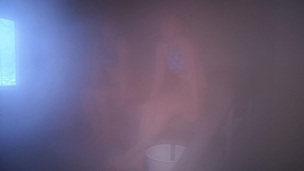 Ahveniston saunan höyryissä