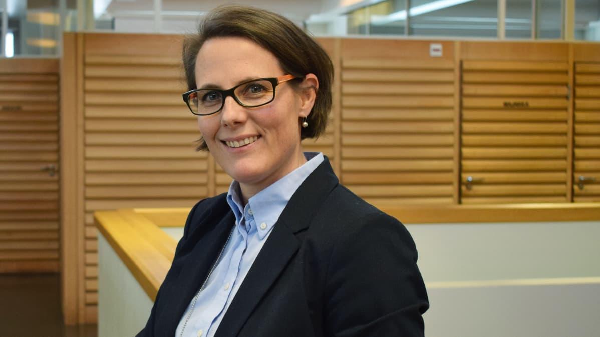 Anna Pärtty, lakimies, yksikön päällikkö, Lounais-Suomen aluehallintovirasto
