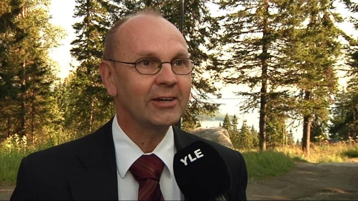 Napa Kolin toimitusjohtaja Ari Uusikangas esitteli Koli Culturan ensimmäisiä suunnitelmia jo vuonna 2009.