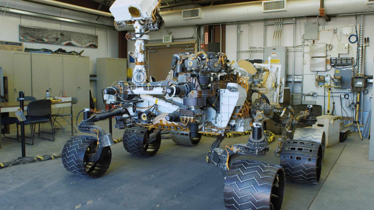 Curiosity Roverin duplikaatti