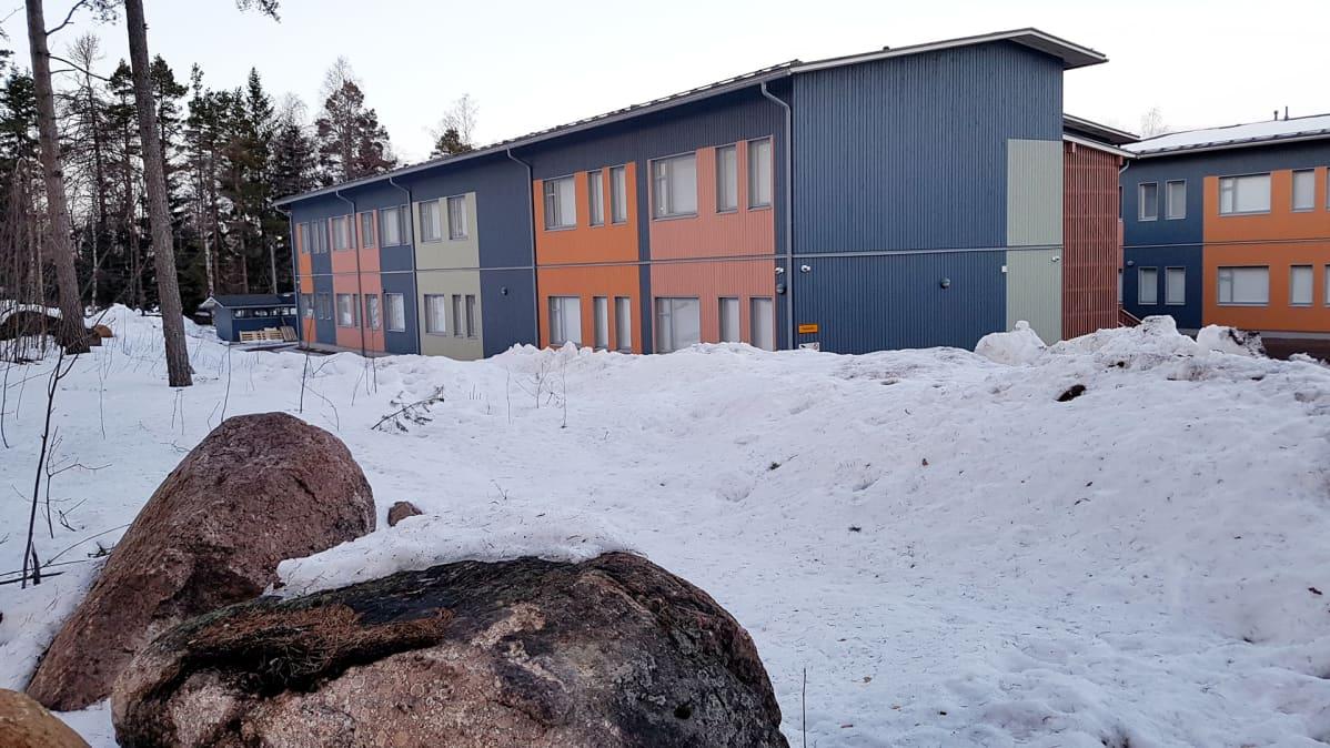 Helilän koulun väistötilarakennus