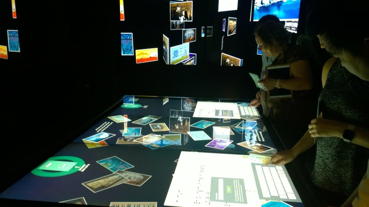 Irlannin siirtolaisuusmuseo EPIC mainostaa itseään maailman ensimmäisenä täysin digitaalisena museona.