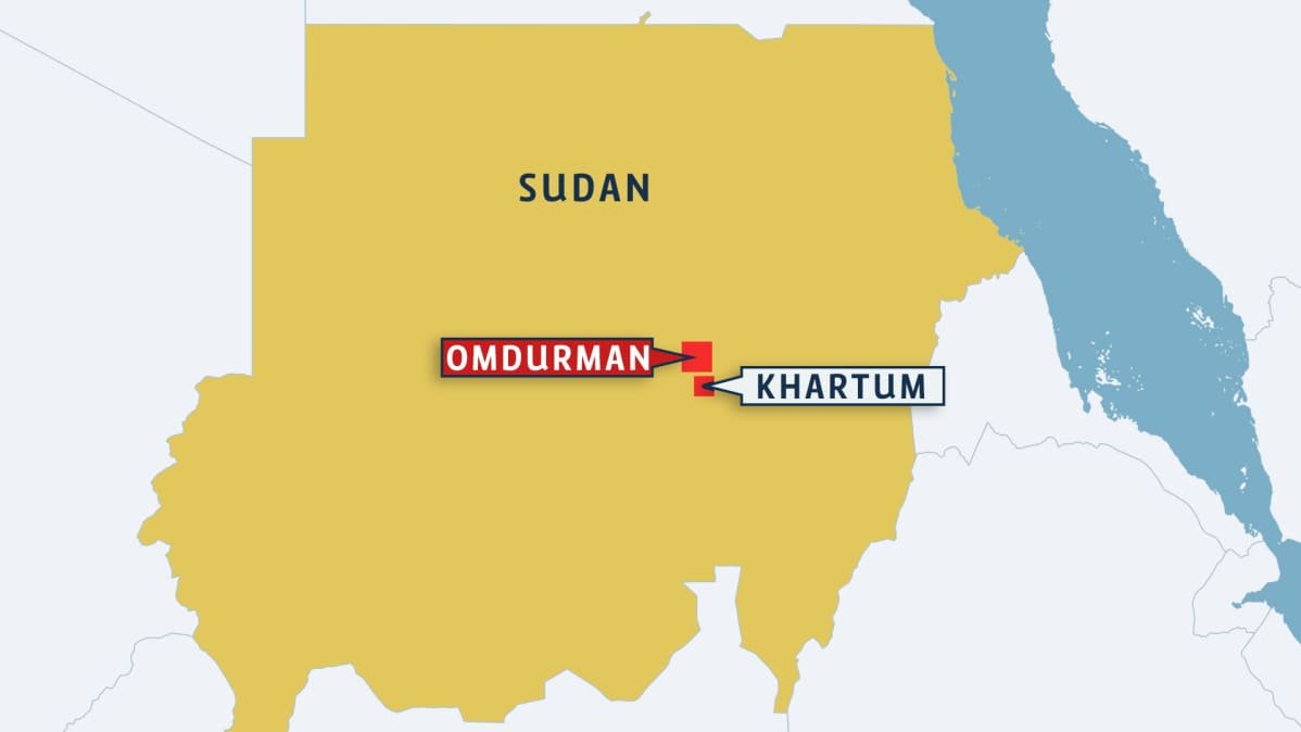 Kahdeksan Lasta Kuoli Rajahdyksessa Sudanissa Yle Uutiset Yle Fi