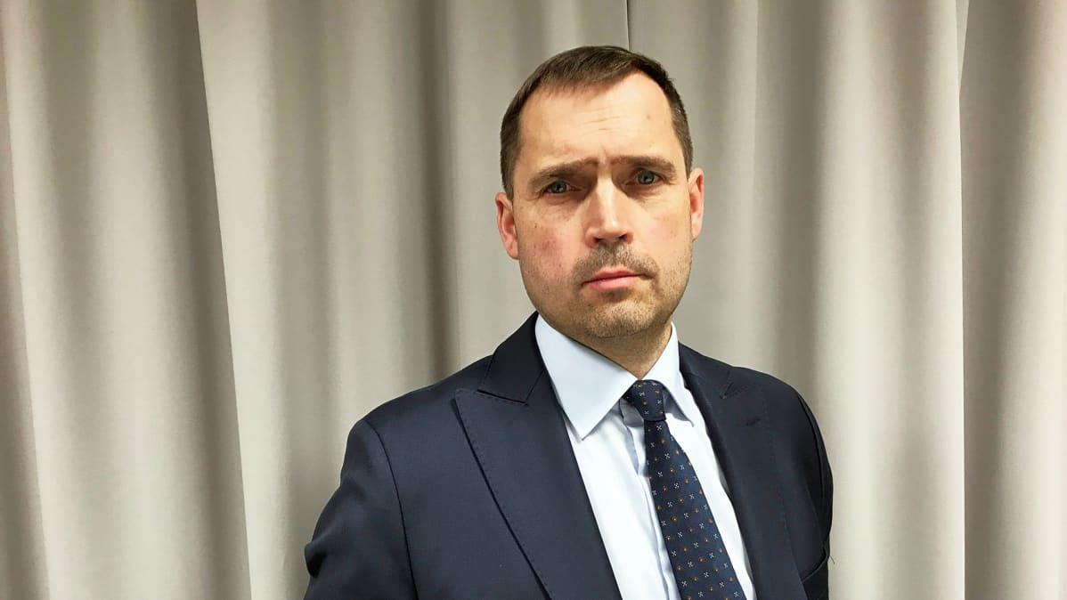 HK Scanin toimitusjohtaja Tero Hemmilä.