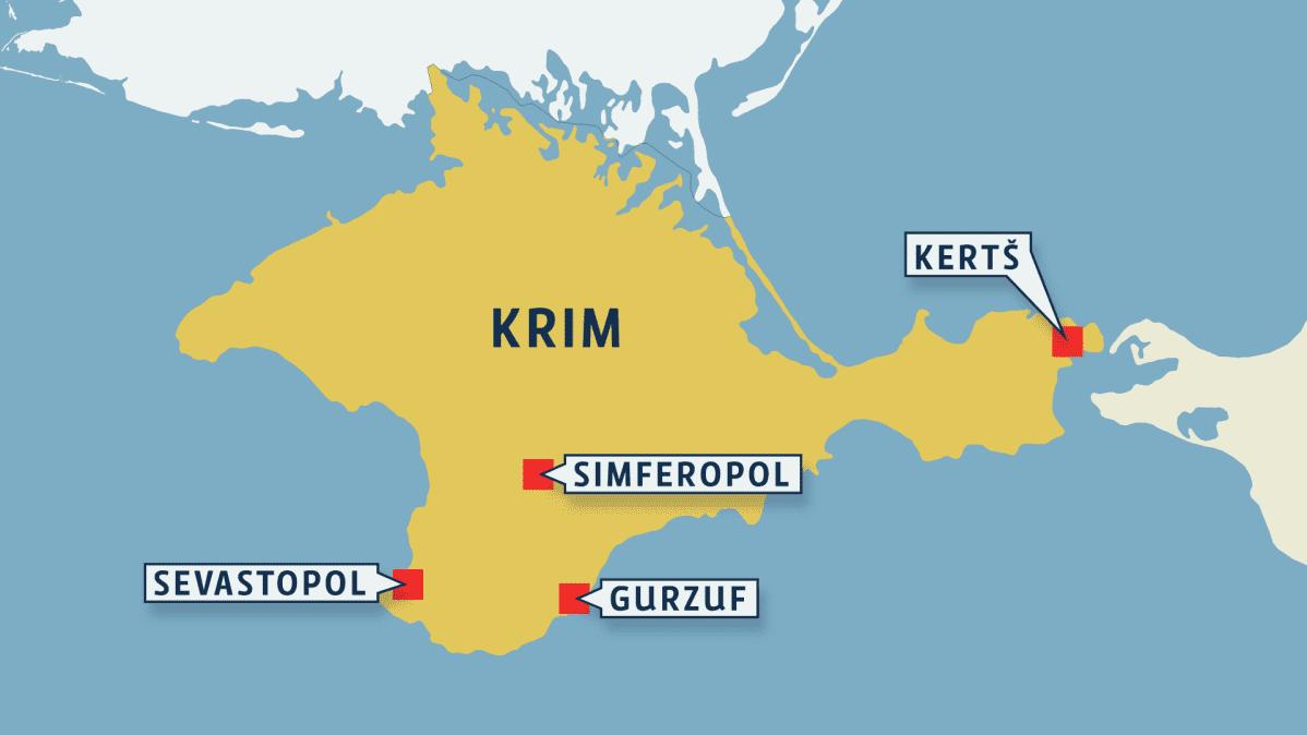 Krimin kartta
