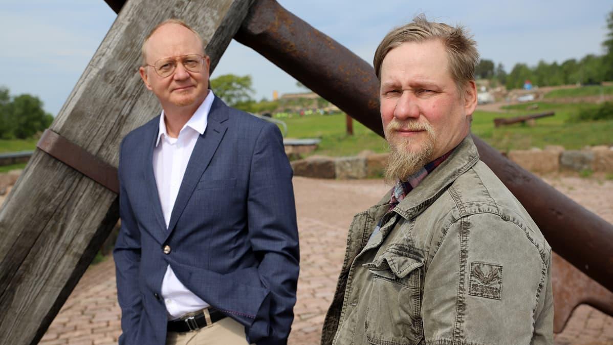 Mika Vehmas ja Juha Kauppila