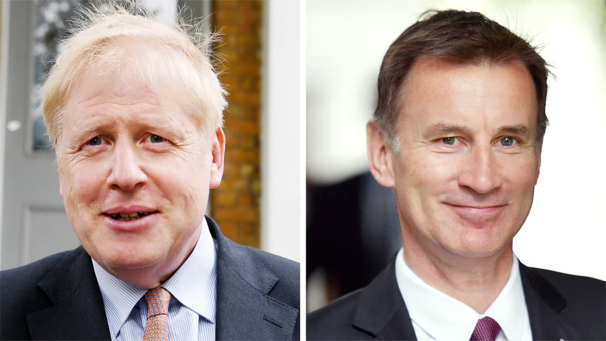 Boris Johnson ja Jeremy Hunt