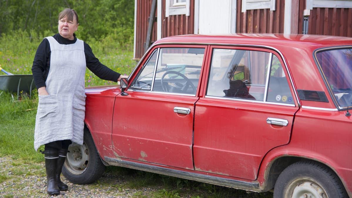 Riitta Nykänen ja Lada