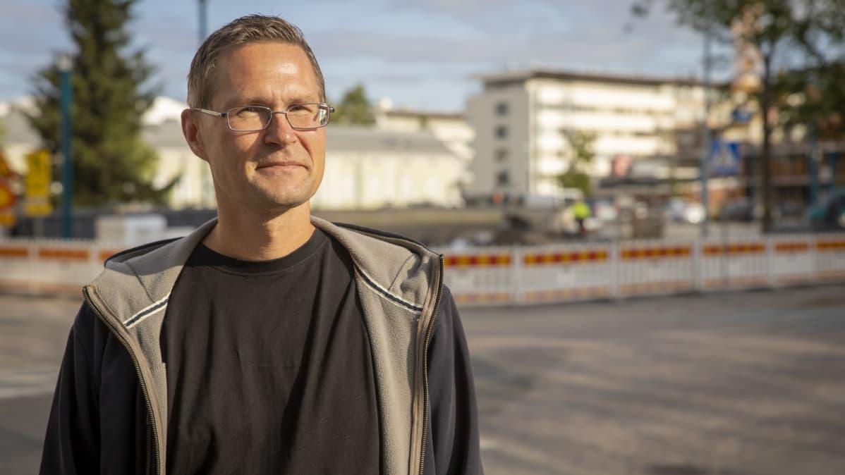 Jyrki Leskelä Oulussa