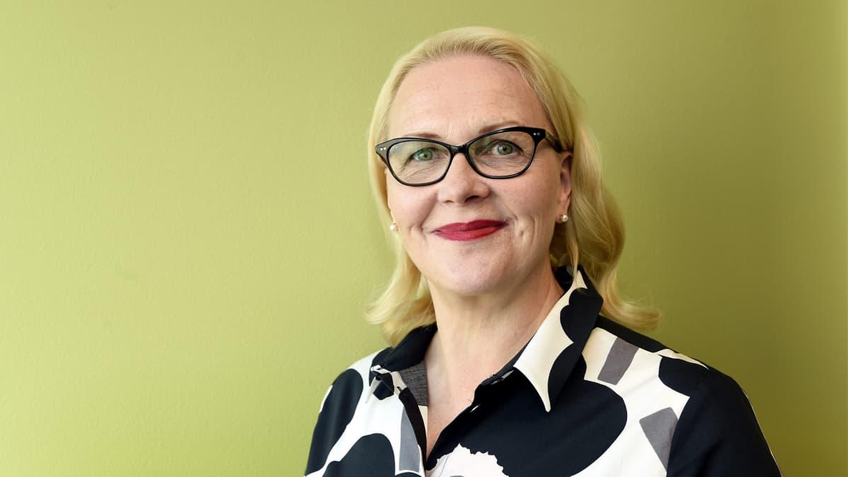 Opetushallituksen perusopetuksen ja varhaiskasvatuksen päällikkö Marjo Rissanen.