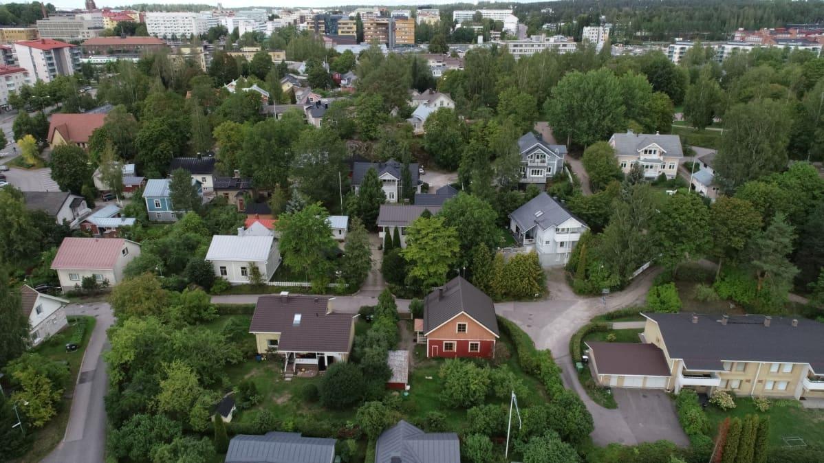 Anttilanmäen asuinalue Lahdessa