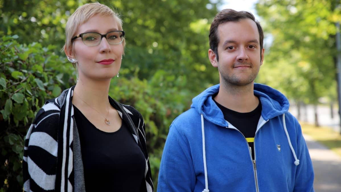Laura Hahl ja Marko Kaira