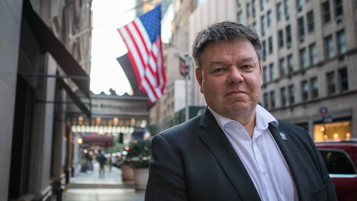 Maailman ilmatieteen järjestö (WMO) pääsihteeri Petteri Taalas.