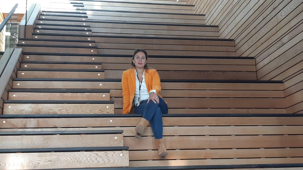 Johanna Salmi hotellinjohtaja Cape East