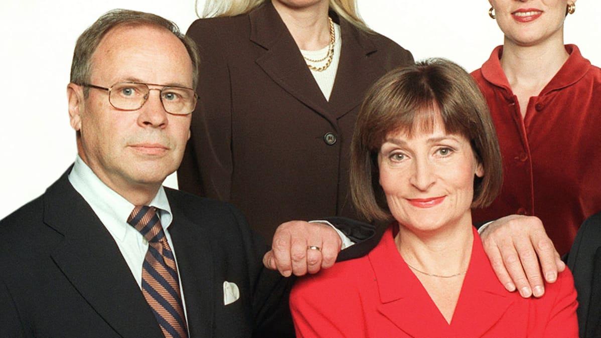 Kari Toivonen ja Eva Polttila.