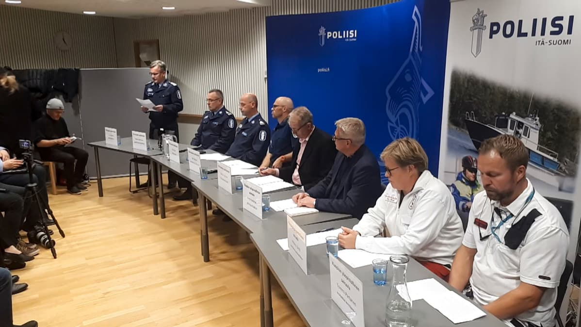 Kuopio, tiedotustilaisuus, väkivallanteko