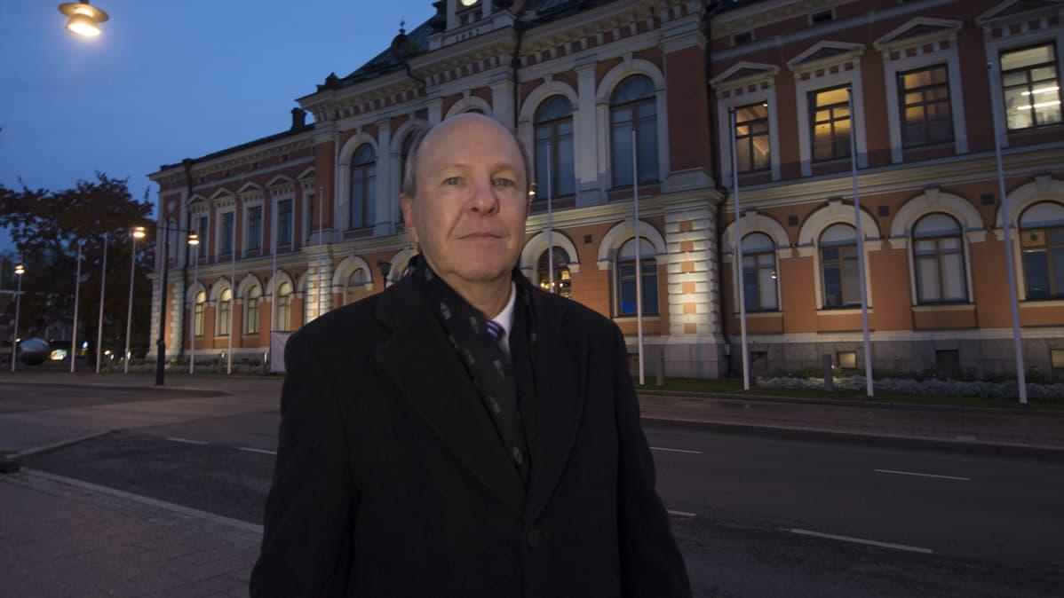 Kuopion kaupunginjohtaja Jarmo Pirhonen.