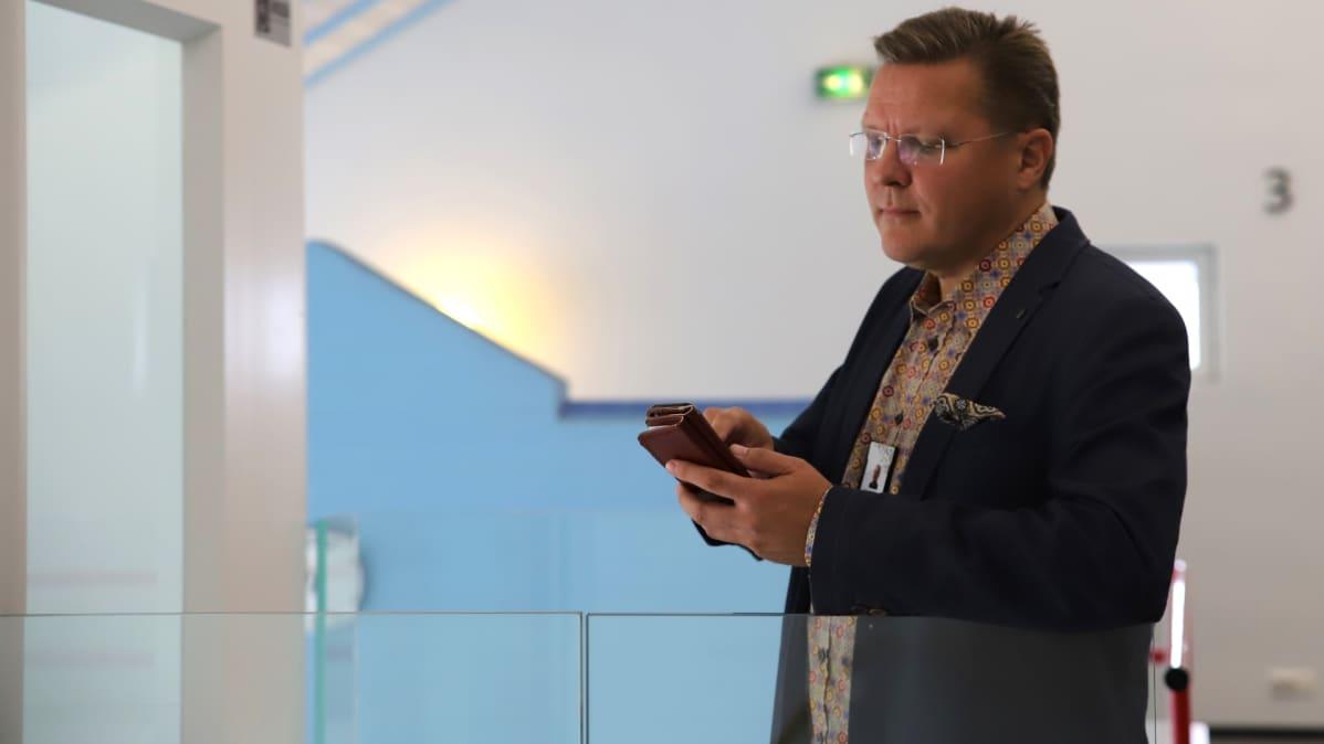 Koulutuskuntayhtymä Tavastian it-päällikkö Petri Nuorteva.