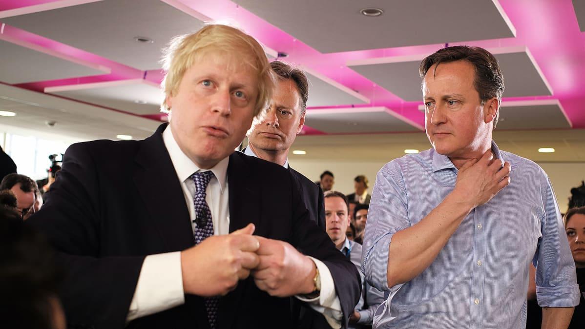 Boris Johnson ja David Cameron