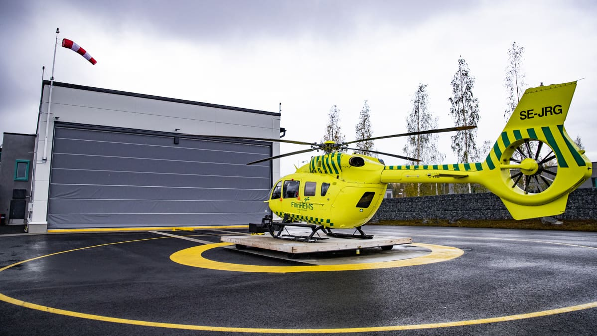Finnhems pelastushelikopteri.
