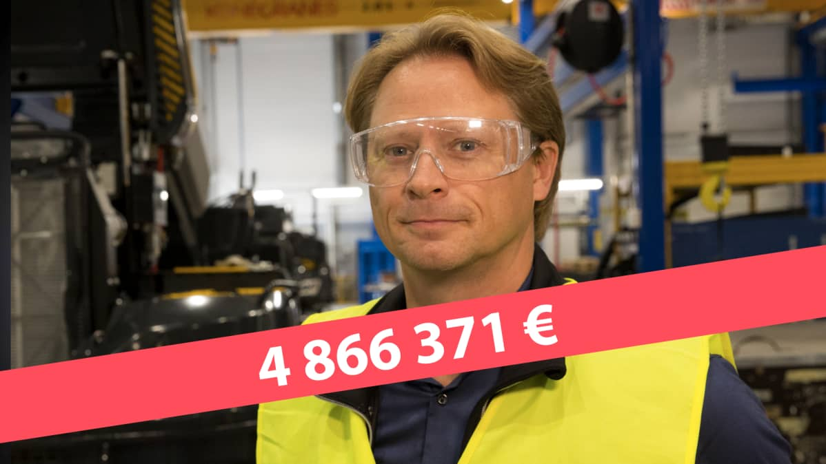 hallituksen puheenjohtaja Juha Vidgren, Ponsse