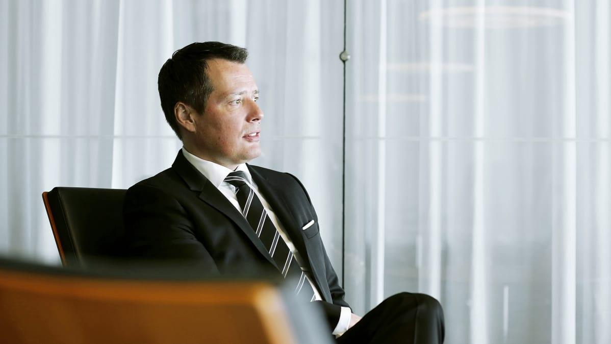 Elinkeinoelämän keskusliiton kauppapolitiikan johtaja Petri Vuorio.