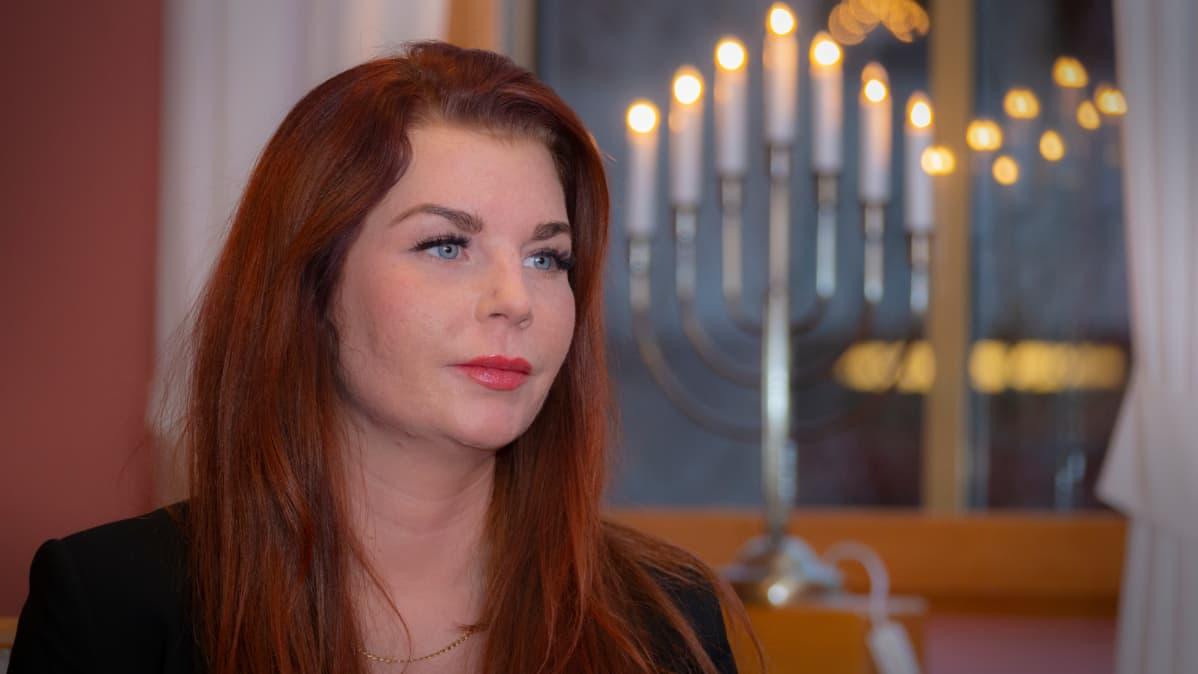 Etelä-Ruotsin Sölvesborgin kunnanneuvos ja kunnanhallituksen puheenjohtaja Louise Erixon, ruotsidemokraatit
