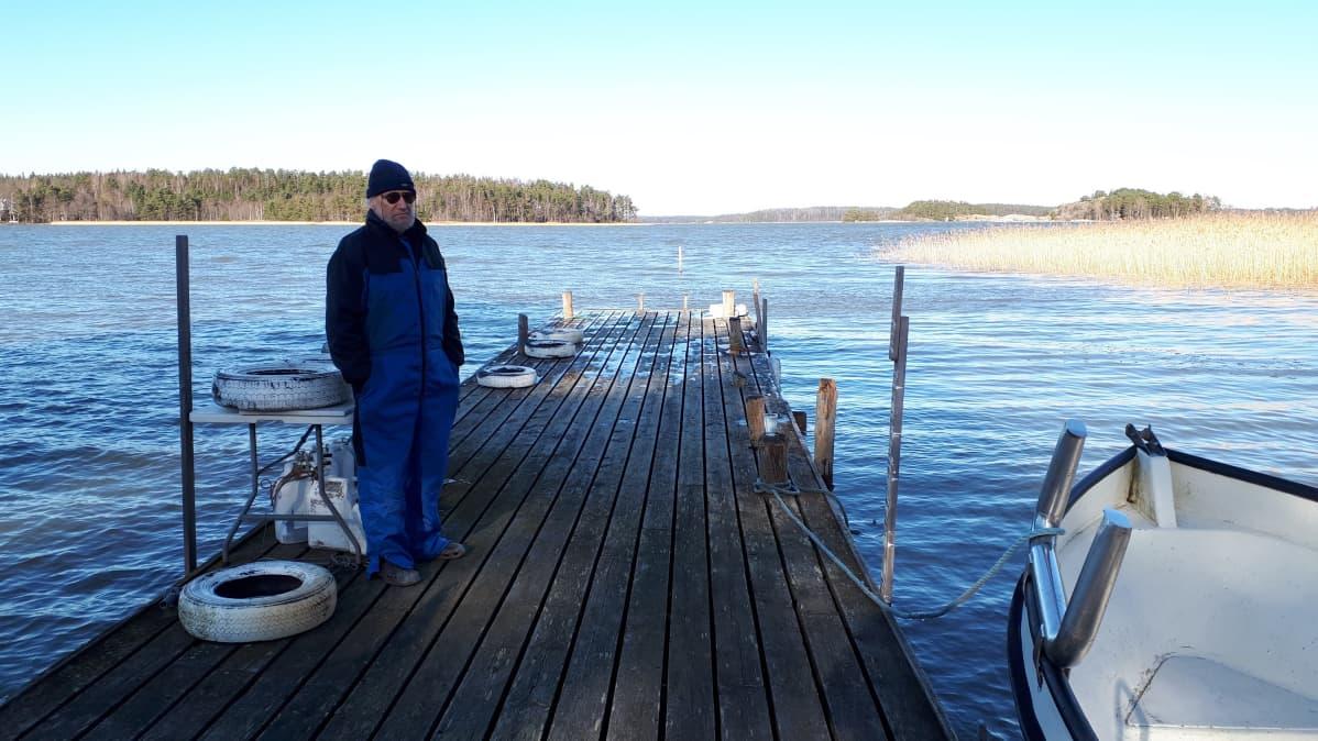 Antero Eloranta, kalastaja
