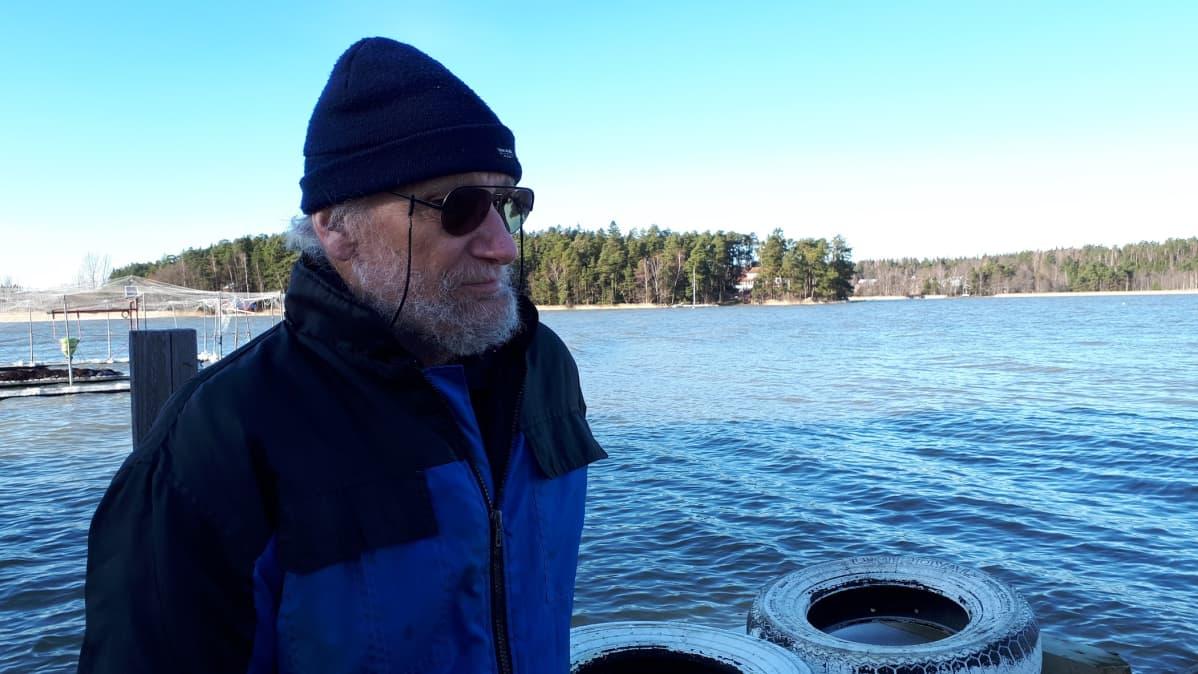 Antero Eloranta, kalastaja, Rymättylä