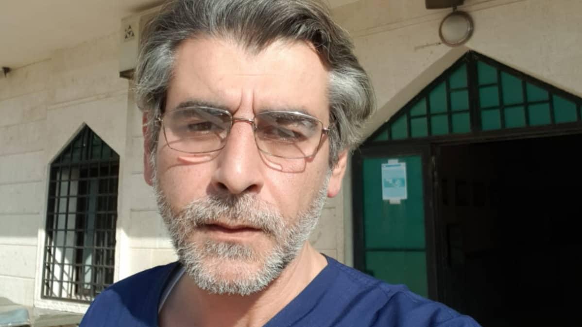 Syyrialainen lääkäri Sameeh Gaddou