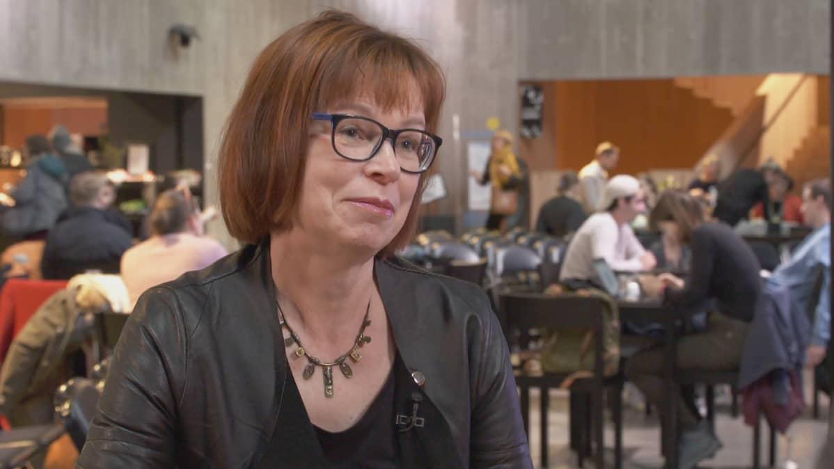 Tuulikki Pietilä haastattelussa