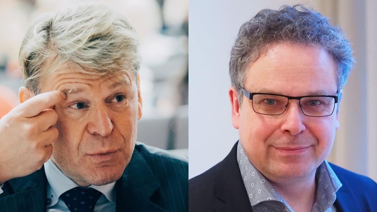 Martin Scheinin ja Mikko Majander