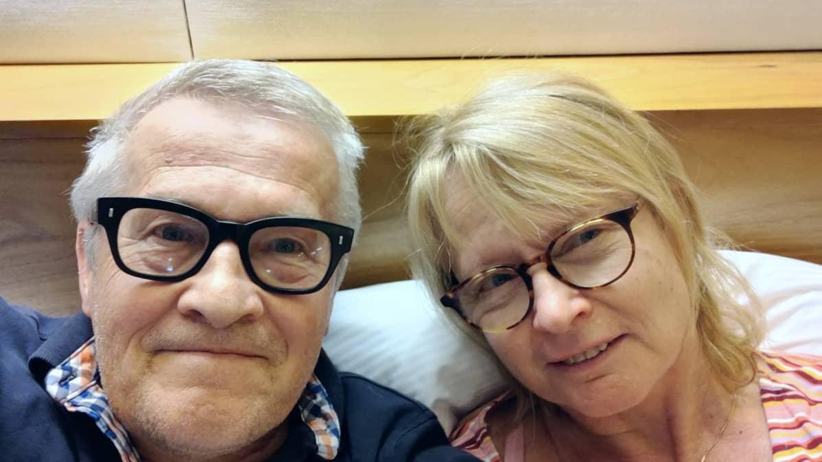 Juhani Järvenpää ja Leena Tuutti.