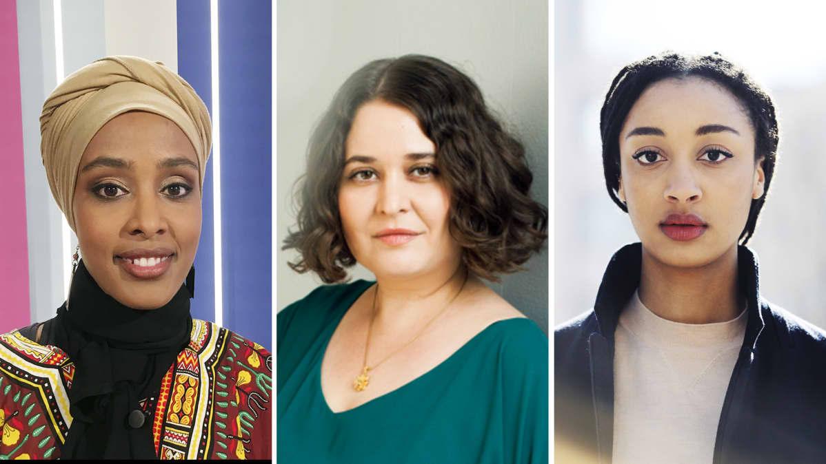 Maryan Abdulkarim, Silvia Hosseini, Maïmouna Jagne-Soreau