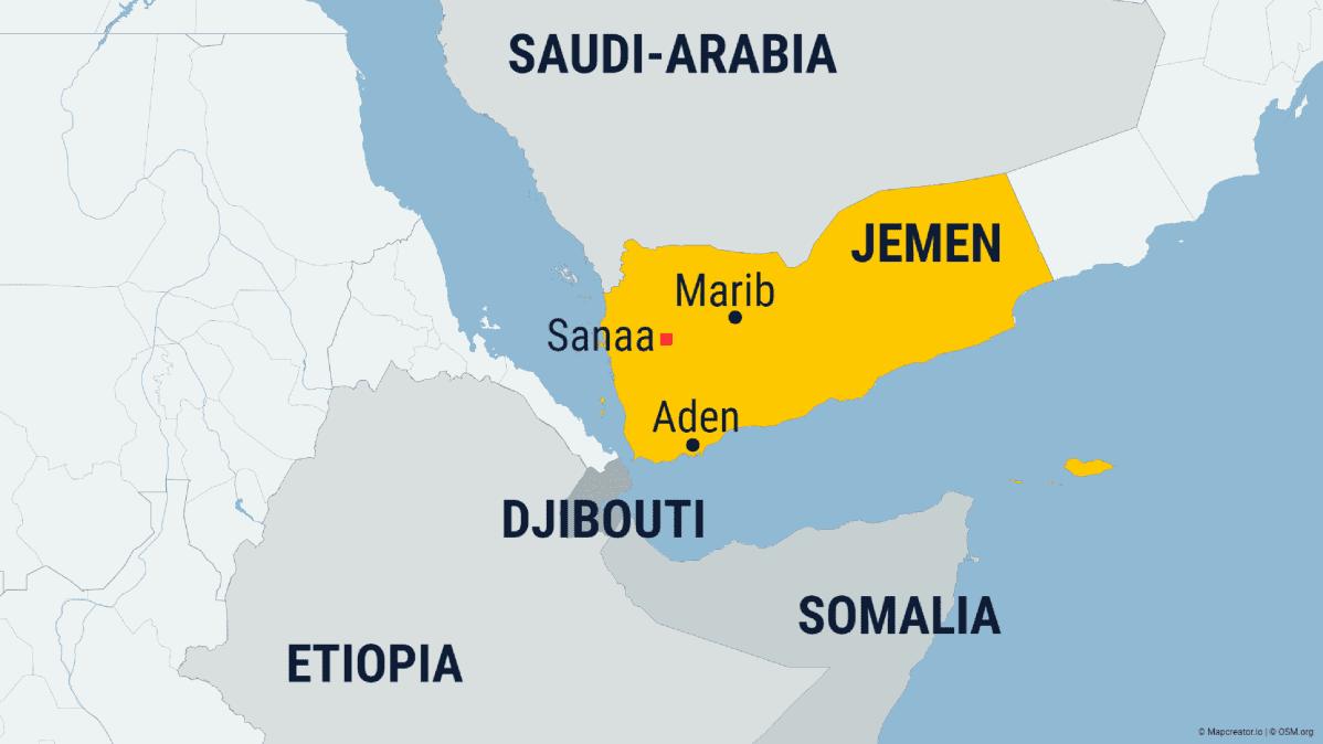 Kartta Jemen