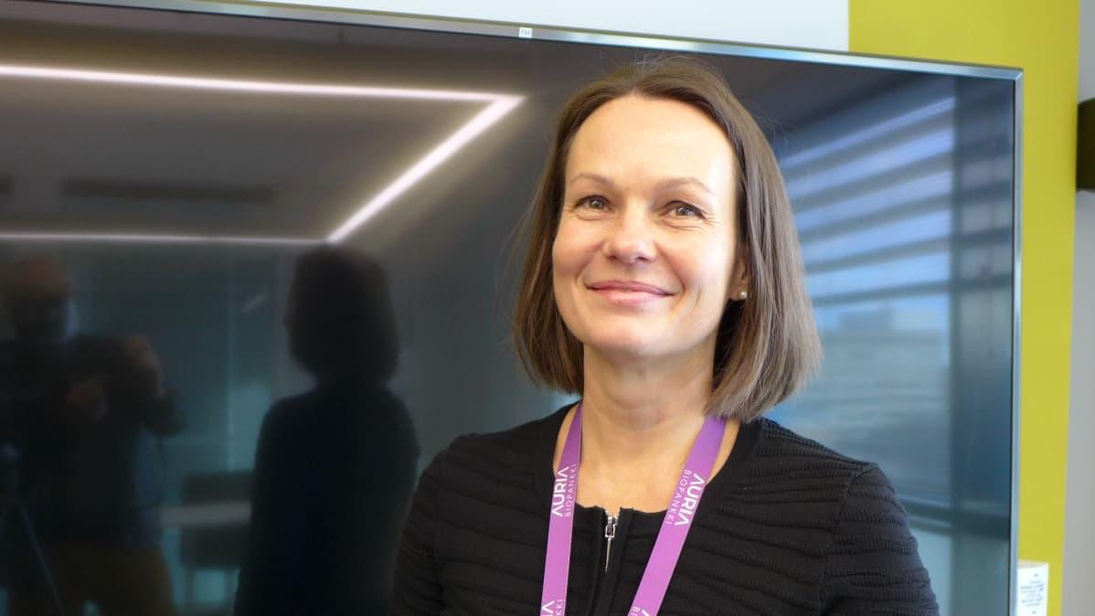 Lila Kallio, Auria biopankki, johtaja