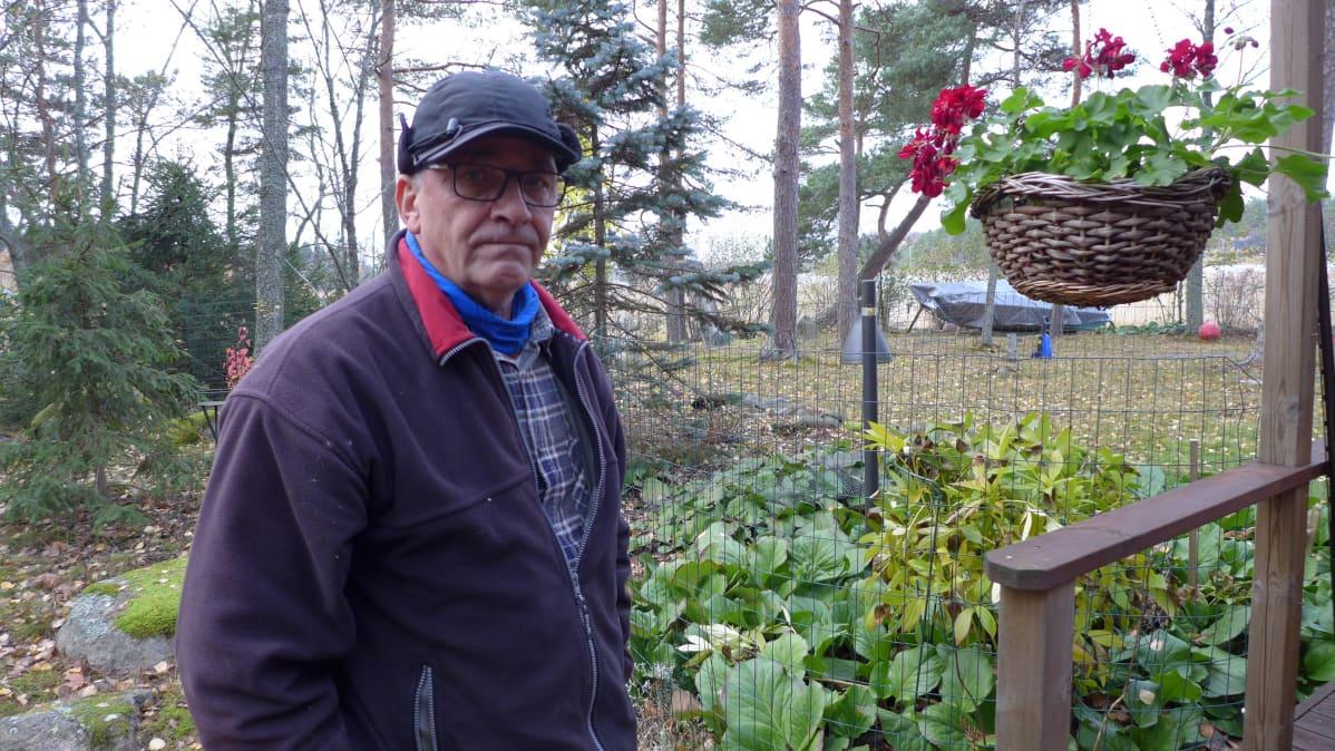 Timo Kaskinen, mökkiläinen Turun saaristosta
