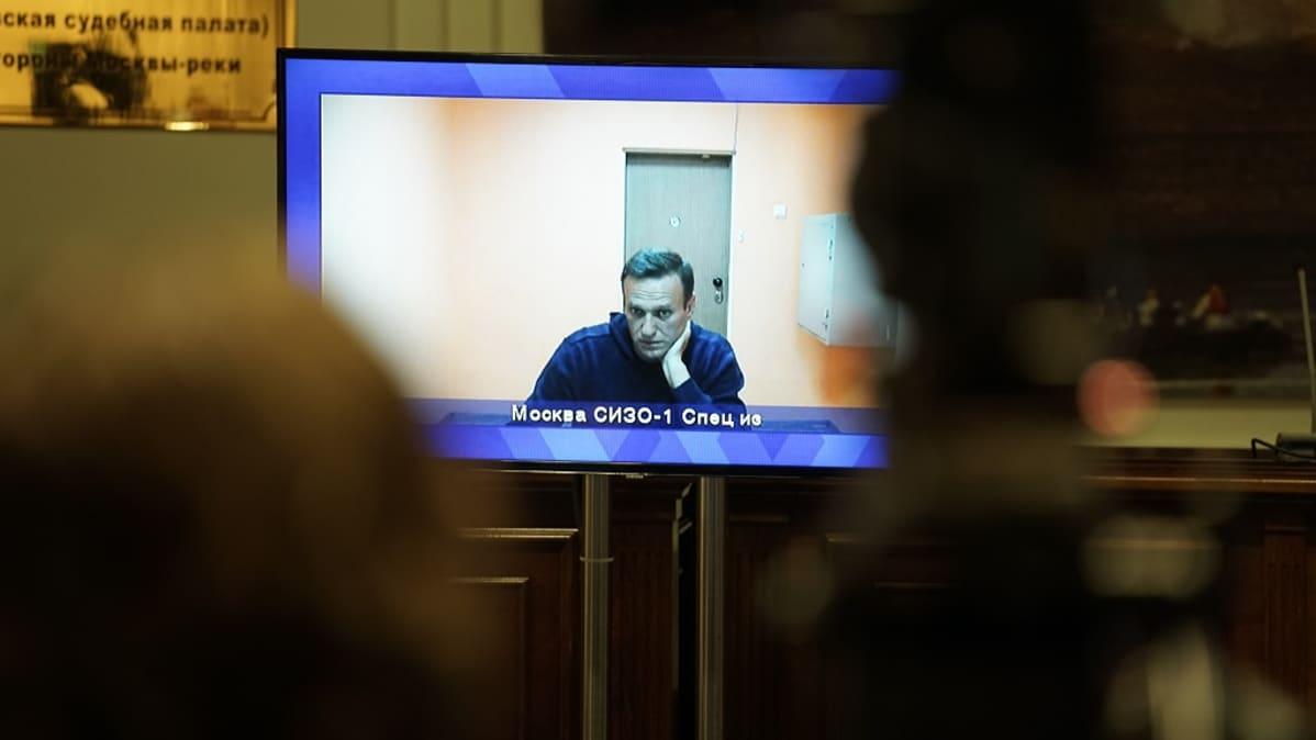 Kuvassa Aleksei Navalnyi.