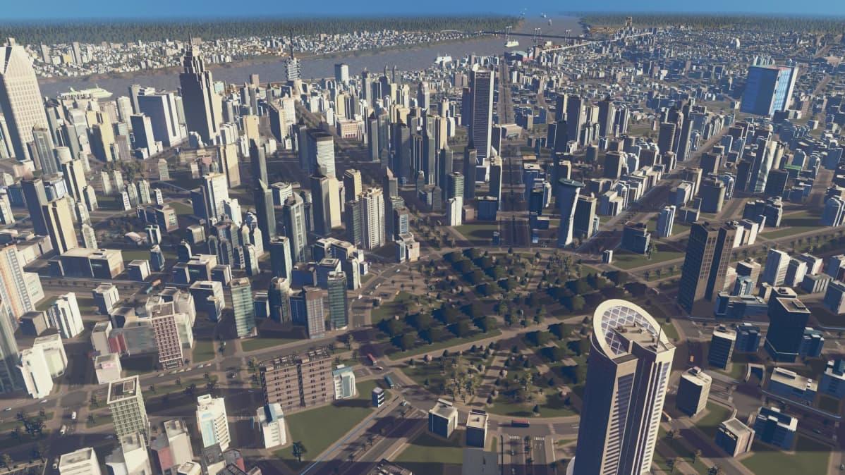 Cities:Skylines, peli, videopeli