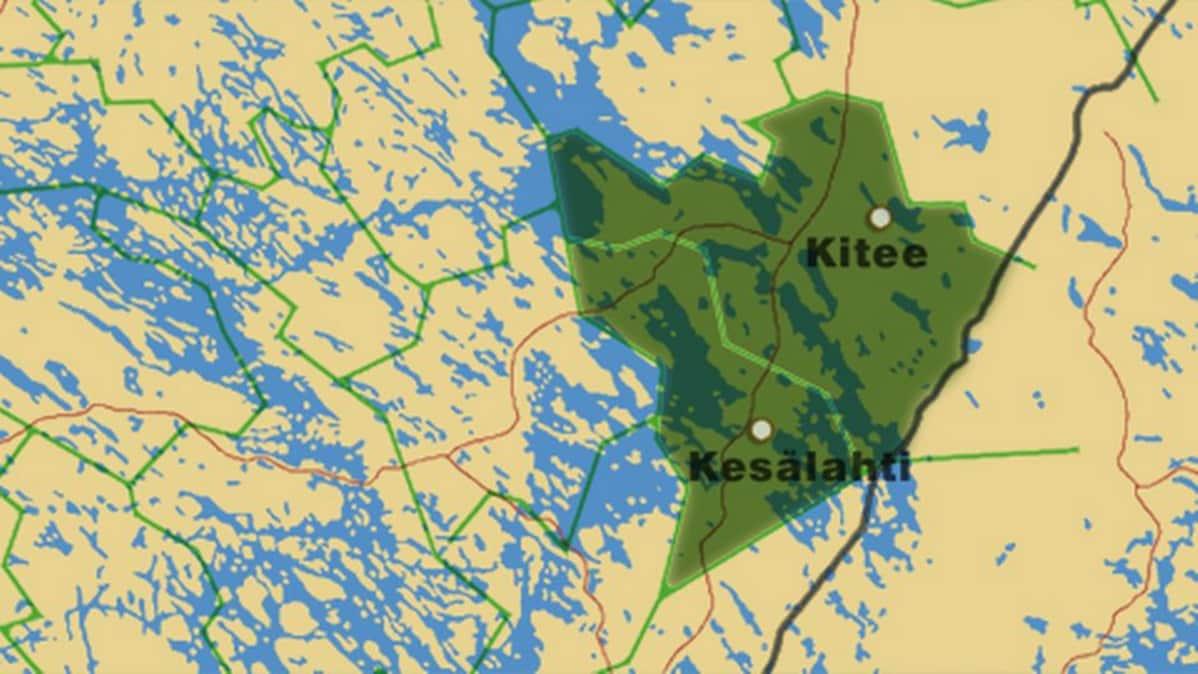 Kesalahden Ja Kiteen Liitos Etenee Vauhdilla Yle Uutiset Yle Fi