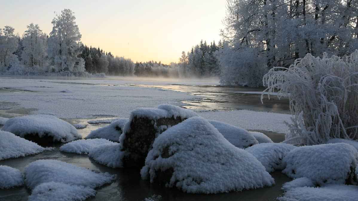 Kymijoki, Ahvionkoski