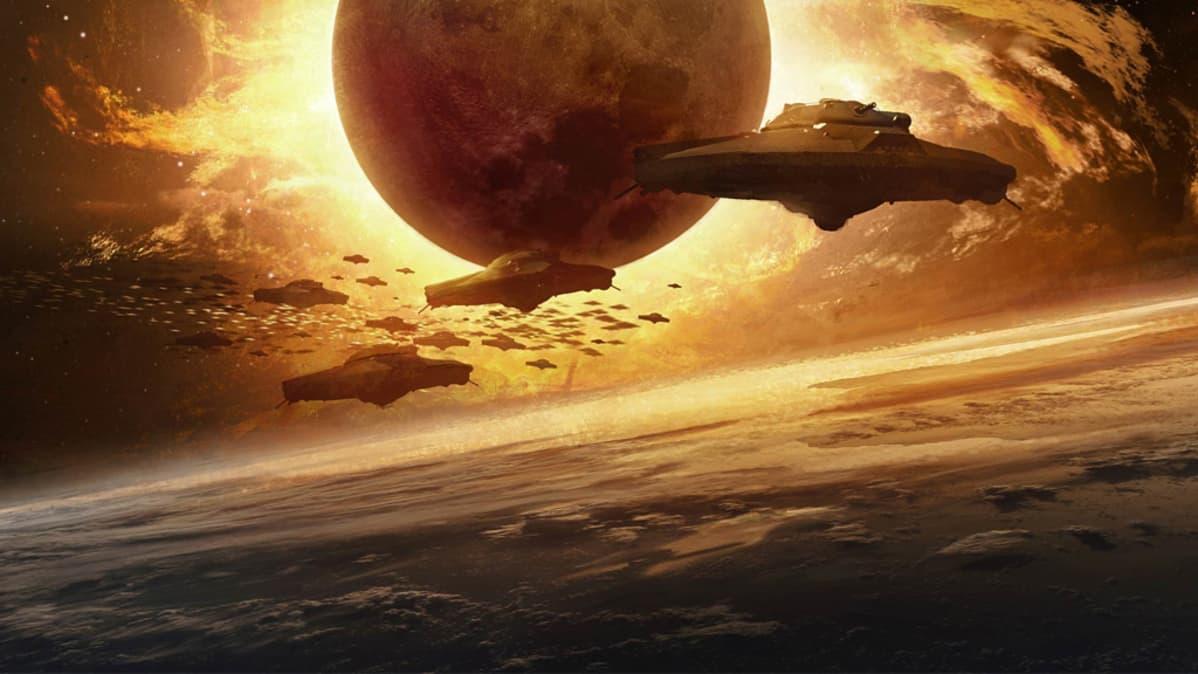 Luonnos elokuvasta Iron Sky