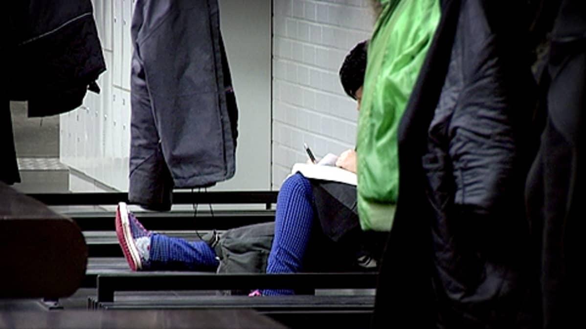 Anonyymi opiskelija Tampereen yliopistossa