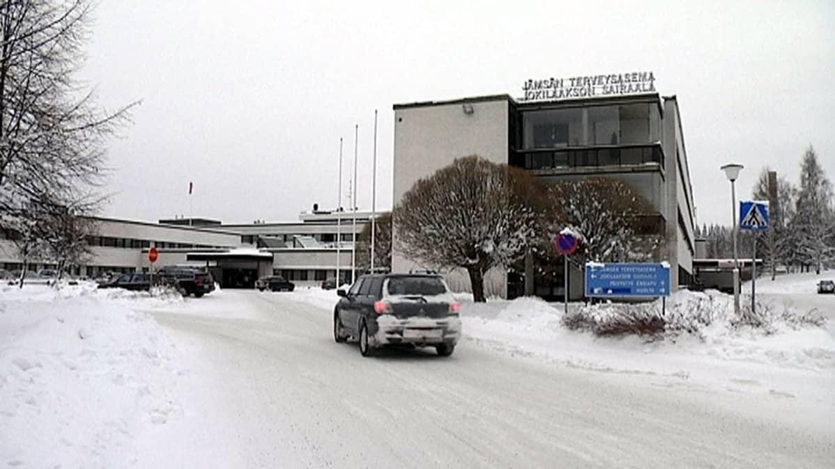Jokilaakson sairaala Jämsässä.