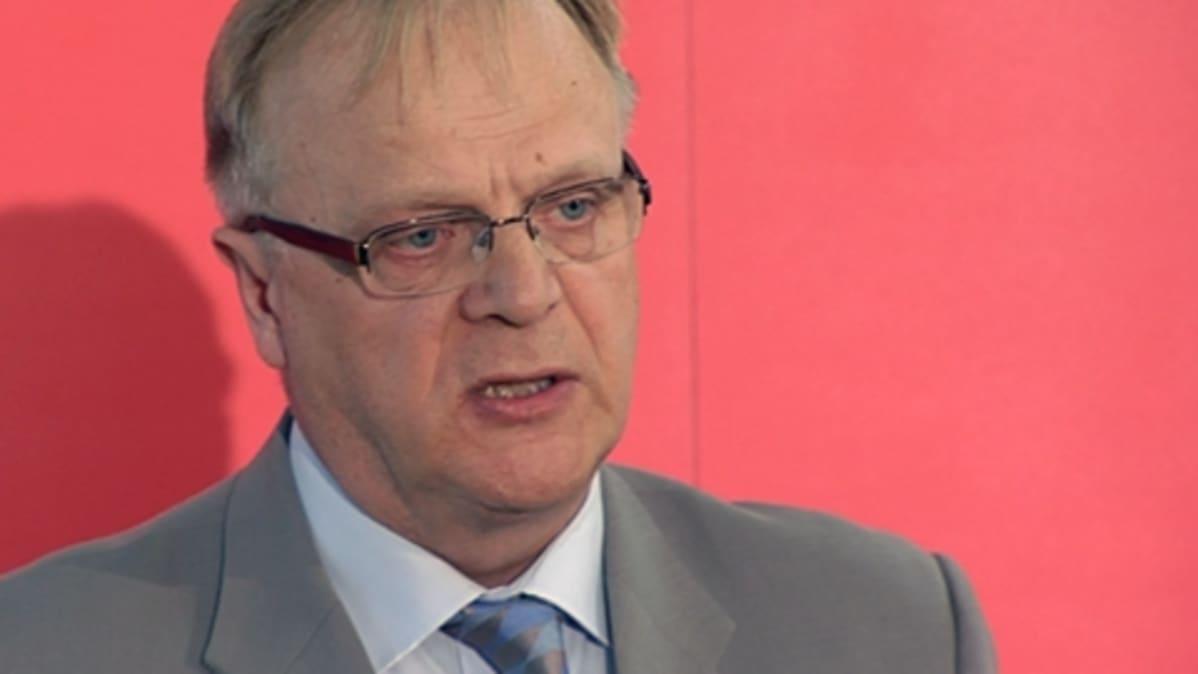 SAK:n entinen puheenjohtaja Lauri Ihalainen