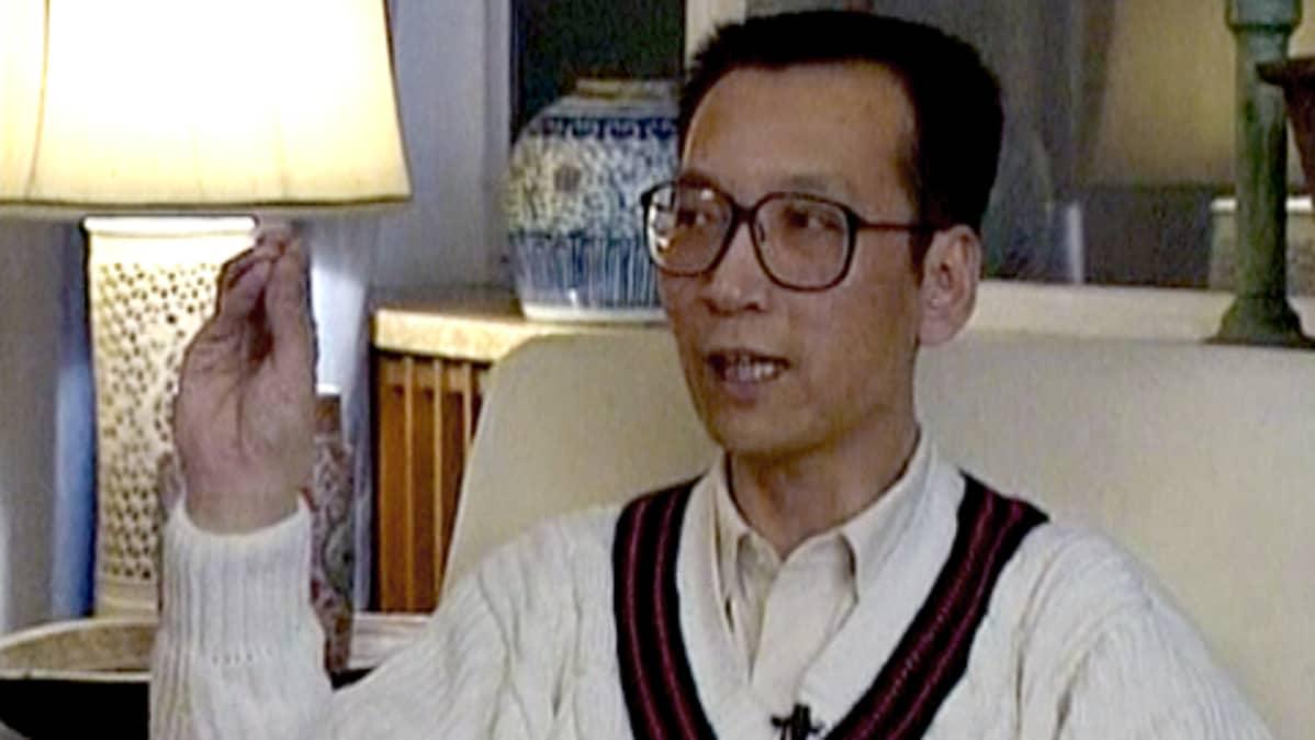 Liu Xiabo vuonna 1995.