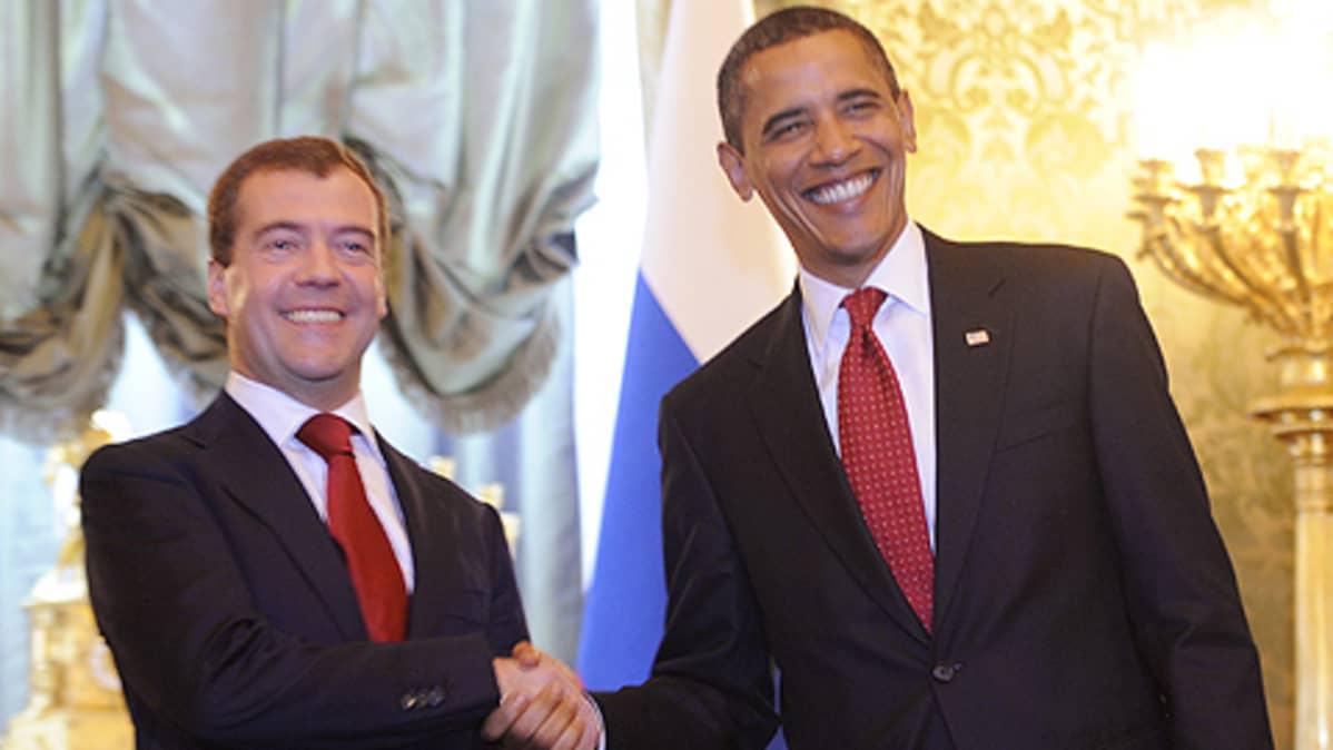 Barack Obama ja Dimitri Medvedev